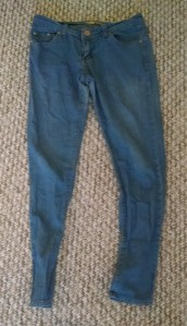 old skinny jeans