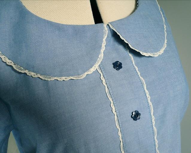 Sewn Lace Trim