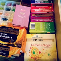 no office would be complete without a tea drawer