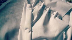 fashion with fabrics blouse toile