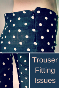 trouser fitting issues