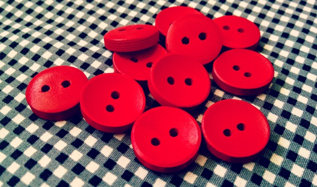 buttons for gingham blouse