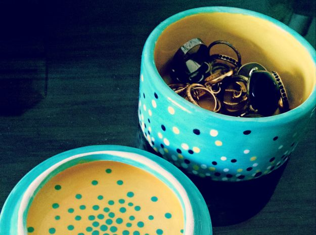 jewellery pot