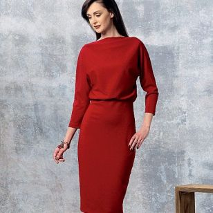 V1460, Misses' Dress