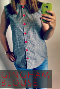 Gingham Blouse on HsHandcrafts