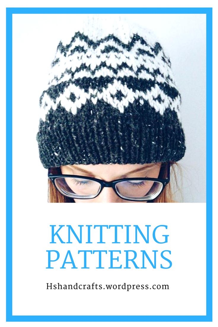 HsHandcrafts Knitting Patterns