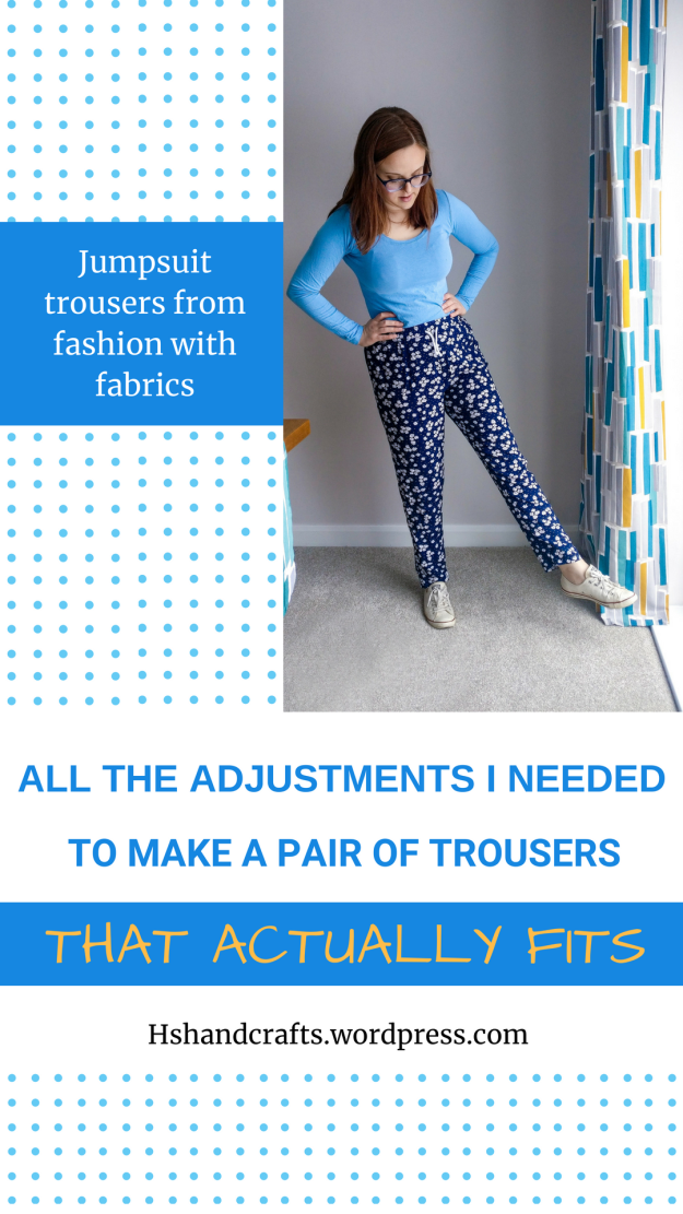 A pIR OF TROUSERS THAT ACTUALLY FITS