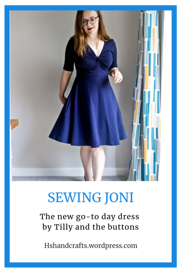 Sewing the Joni dress by Tilly and the Buttons