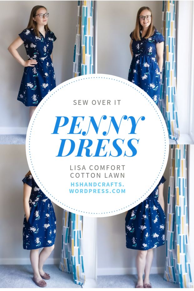 Sew Over It Penny dress and Lisa Comfort Cotton lawn