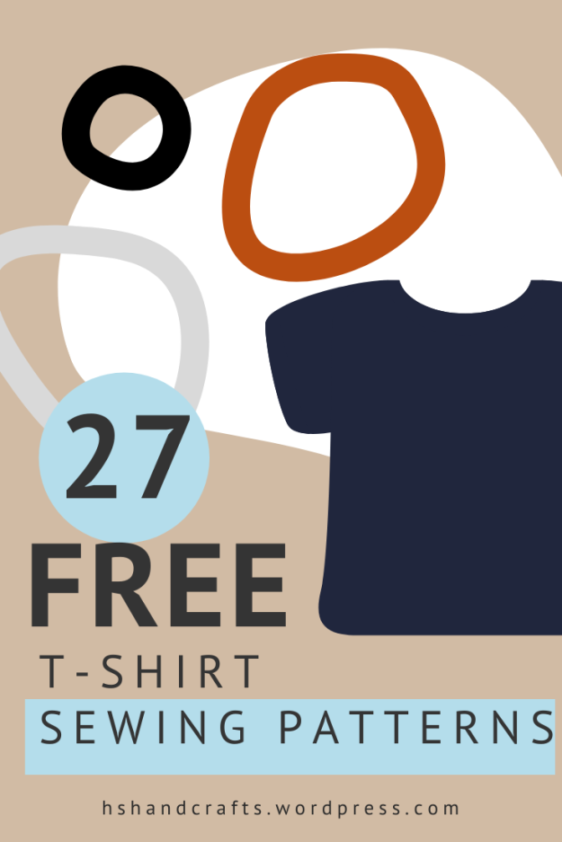 24 free t-shirt sewing patterns
