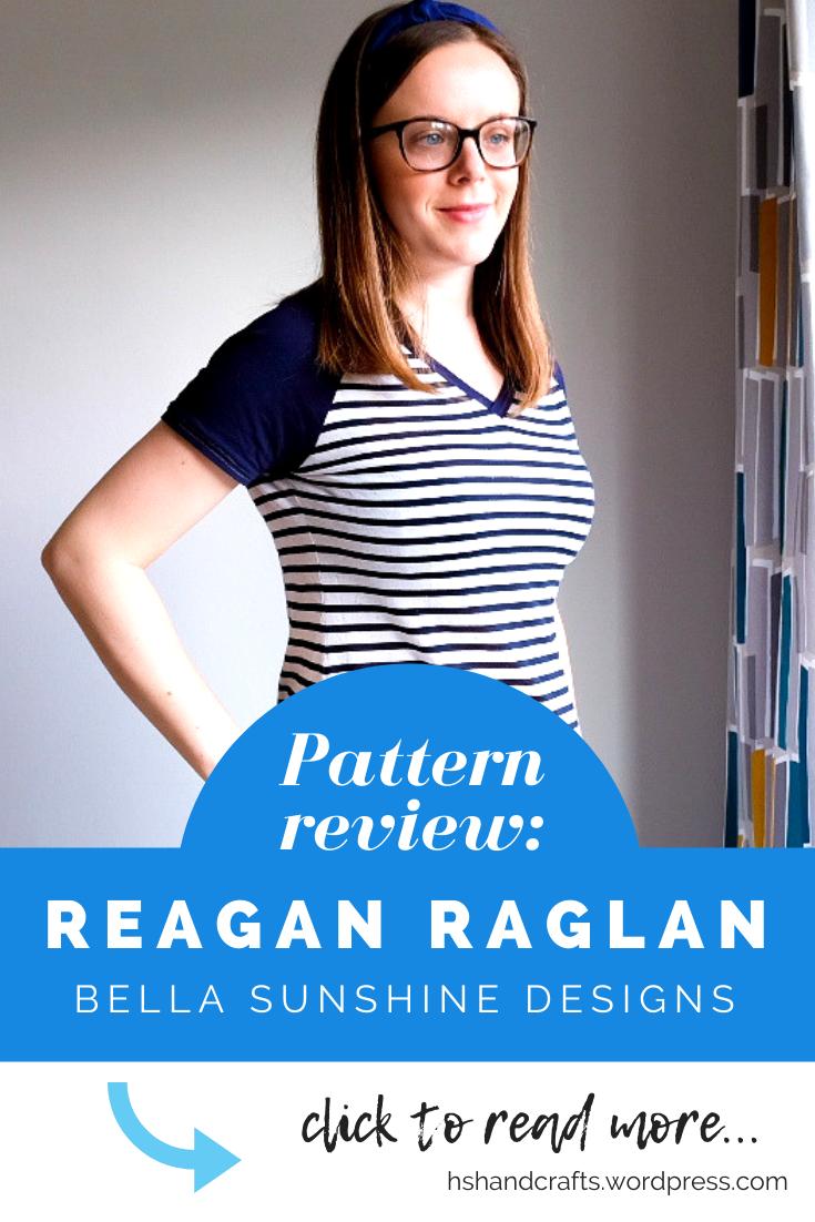 Reagan Raglan by Bella Sunshine Designs free sewing pattern review