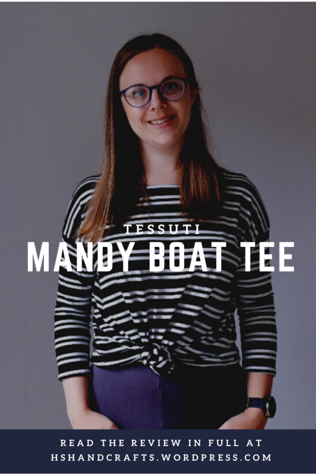 Mandy Boat Tee by Tessuti. Free sewing pattern review